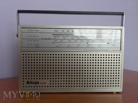 Radio Alicja R-603 Eltra
