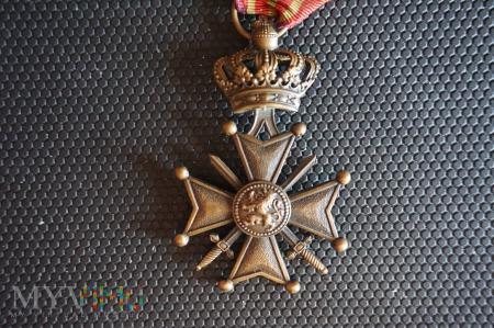 Belgijski Krzyż Zasługi z 1915r