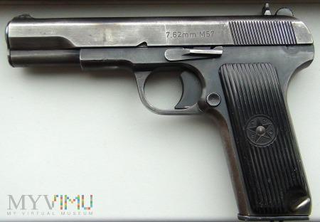 Duże zdjęcie 7,62 mm Pistolet Zastava M57 (jugosłowiański TT)