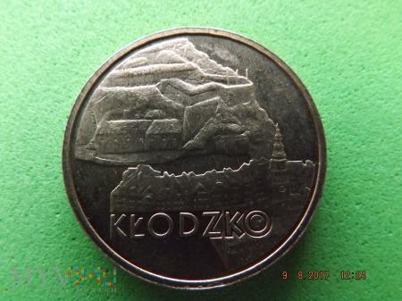 Polska 2 złote, 2007 KŁODZKO