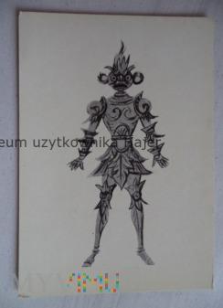 Pan Twardowski - kostium do baletu L.Różyckiego