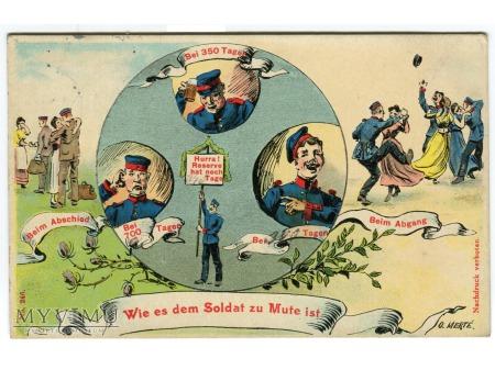 1911 żołnierze na służbie Humor wojskowy