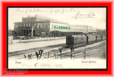 POZNAN Posen, Dworzec kolejowy