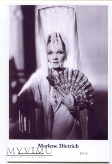 Marlene Dietrich Swiftsure Postcards 17/10