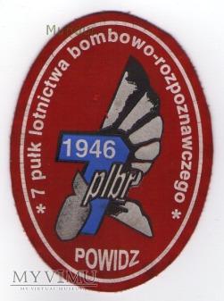 Oznaka 7 Pułk Lotnictwa bombowo-rozpoznawczego
