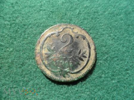 2 heller 1907