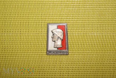 Odznaka Wzorowy Żołnierz - srebrna