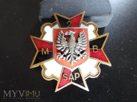 Numerowana Odznaka 2 Mazowiecka Brygada Saperów