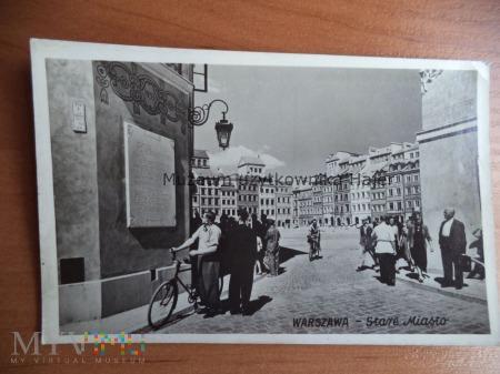Duże zdjęcie WARSZAWA - Stare Miasto