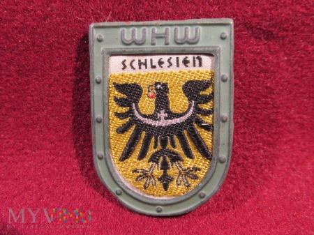 SCHLESIEN- herby okręgów granicznych- odznaka WHW