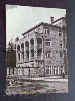 ZAKOPANE Fragment sanatorium wojskowego
