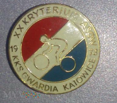 XX Kryterium Asów KKS Gwardia Katowice 1973