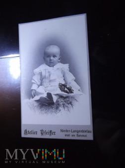Stare zdjęcie Atelier Pfeiffer Nieder-Langenbielau