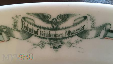 Półmisek z Bahnhof Waldenburg Altwasser