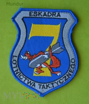 Oznaka 7. Eskadry Lotnictwa Taktycznego Powidz