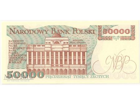 50000 złotych 1989 rok seria AC