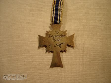 Mutterkreuz 2.stufe in Silber