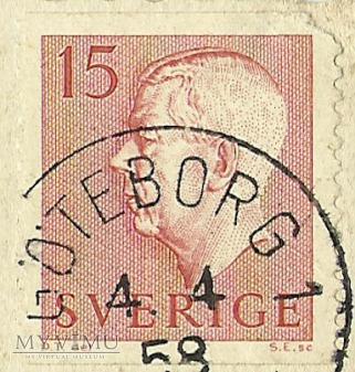 Glad Pask - Szwecja -1958 r.