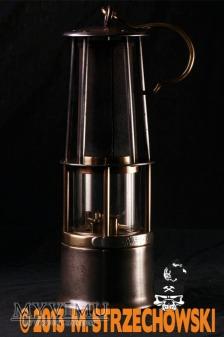 Lampa benzynowa bezpieczeństwa Carl Wolf