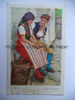 Strój ludowy czeski - Malarstwo
