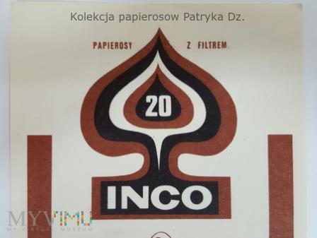 Papierosy INCO / CARO 20 szt. - etykieta