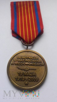Medal jubileuszowy 90 Lat OSP Niegowonice
