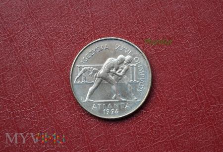 """Moneta: 2zł """"Igrzyska XXVI Olimpiady Atlanta 1996"""""""