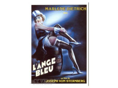 Marlene Dietrich L'Ange Bleu Błękitny Anioł