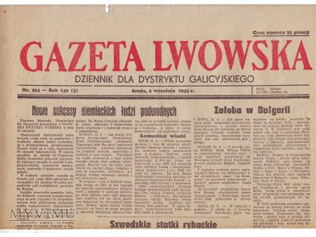 Gazeta Lwowska (1 IX 1943