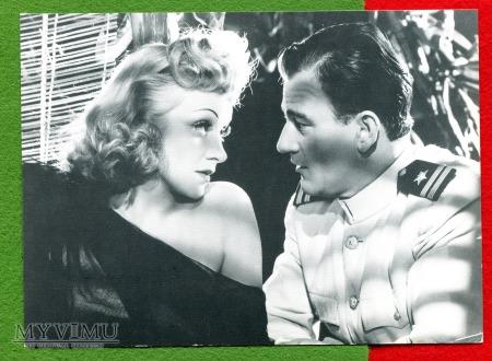 Marlene Dietrich i John Wayne Seven Sinners 1940