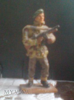 Sierżant brytyjskich zielonych beretów II WŚ
