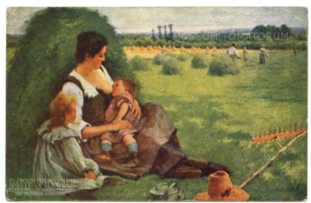 Brouillet - Macierzyństwo wiejskie polne