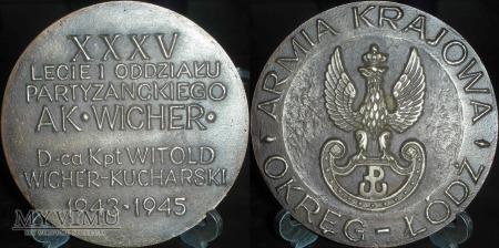 115.XXXV lecie I Oddziału Partyzanckiego AK WICHER