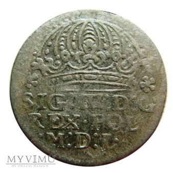 Grosz koronny 1611