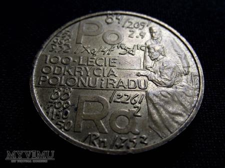 100- lecie odkrycia Polonu i Radu