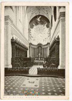 Gdańsk-Oliwa - Katedra - Ołtarz główny, 1907