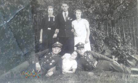 Duże zdjęcie żołnierze okres międzywojenny