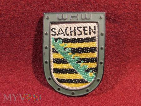 SACHSEN- herby okręgów granicznych- odznaka WHW