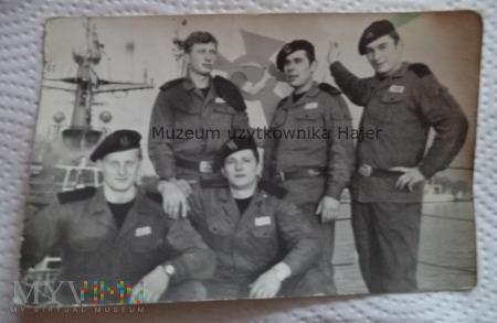 Duże zdjęcie Zdjęcie marynarzy Marynarka Wojenna MW
