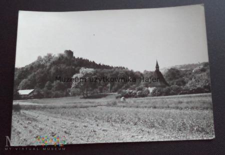CZCHÓW Wzgórze z ruinami zamku z XIV w.