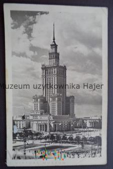 Duże zdjęcie WARSZAWA - Pałac Kultury i Nauki im. J.Stalina