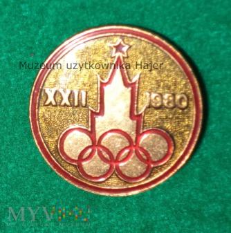 Moskwa XXII 1980 - olimpiada