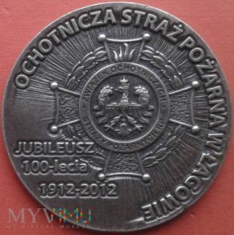 MEDAL JUBILEUSZ 100 - LECIA OSP. W ŁAGOWIE