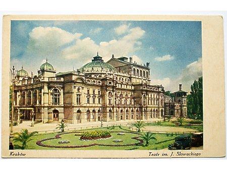 Kraków teatr im. Juliusza Słowackiego