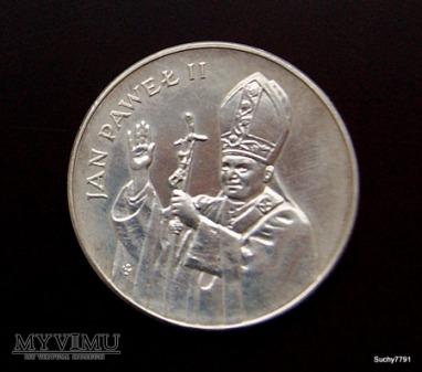 10000 zł PRL Jan Paweł II
