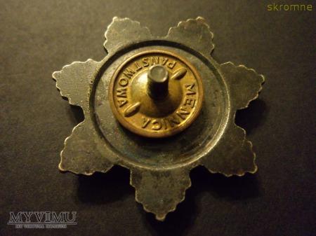 """Odznaka""""Przodownik Pracy Socjalistycznej"""" srebrna."""
