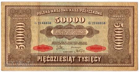 10.10.1922 - 50000 Marek Polskich