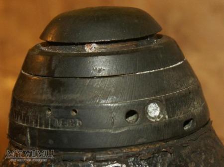 Austriacki szrapnel kalibru 120 mm