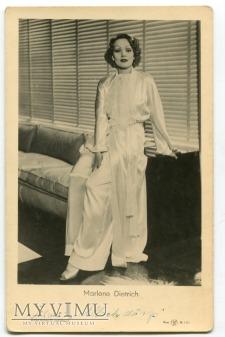 Marlene Dietrich Łotwa Pocztówka EMBR 1335