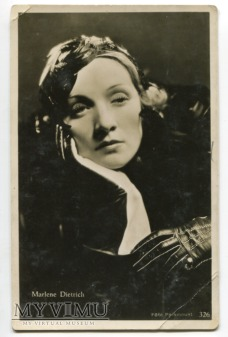 Marlene Dietrich MARLENA JOSPE nr 326